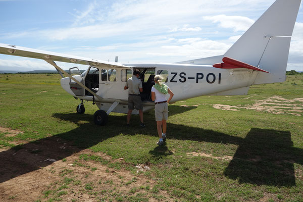 Airplane at Hitgeheim Country Lodge South Africa