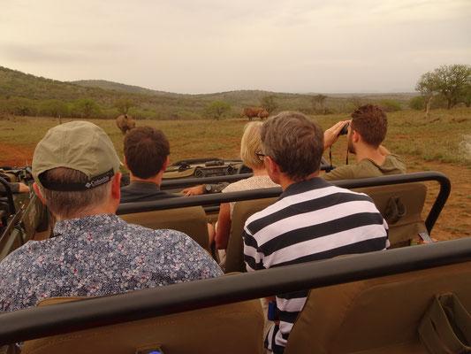 Jeep Safari Leopard Mountain Lodge South Africa
