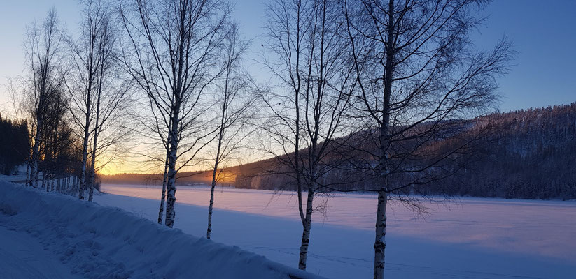 Froze Lake Levi