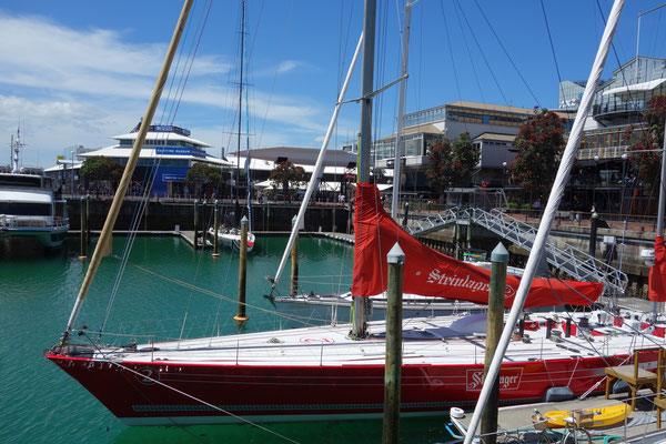Americas Cup Boats Auckland NZ
