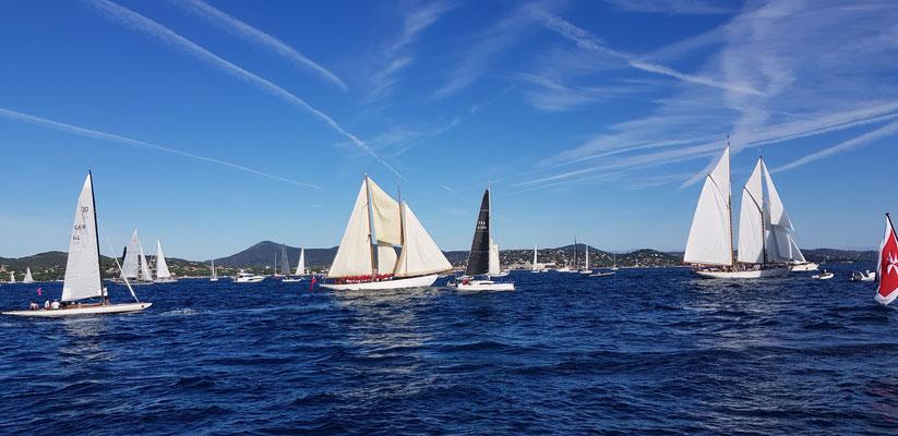 Yacht race st. tropez