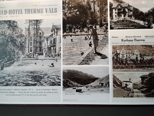 History of the Vals Therme