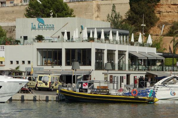 Restaurant La Terrazza Port Adriano Mallorca