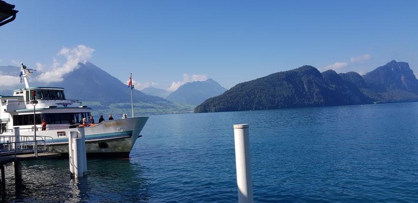 Steam Boat Lake of Lucerne