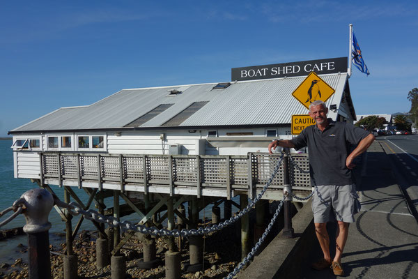 The Boatshed Cafe Nelson New Zealand