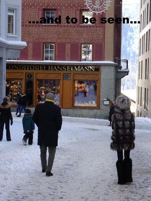 Jetset lifestyle in St. Moritz