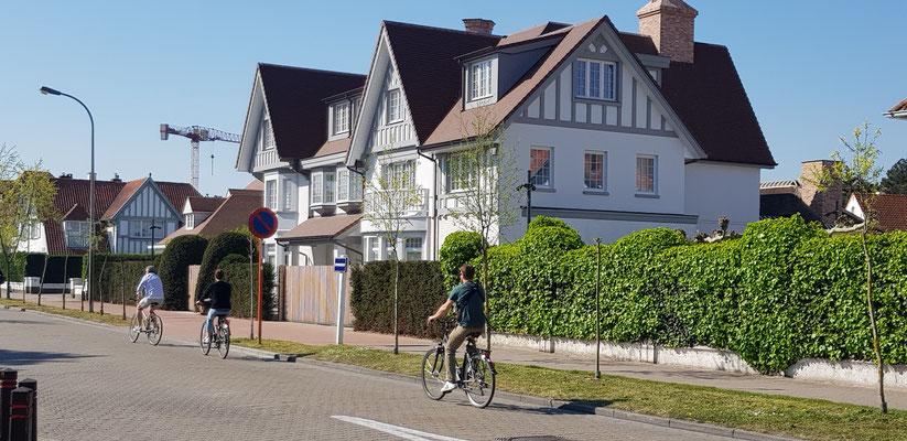 Mansions in Knokke - Heist Belgium