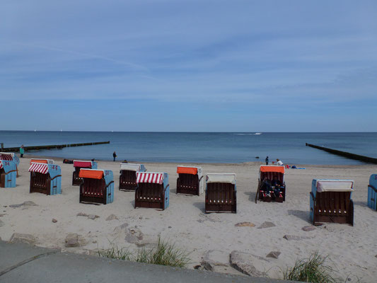 Beach basket Baltic Sea Germany