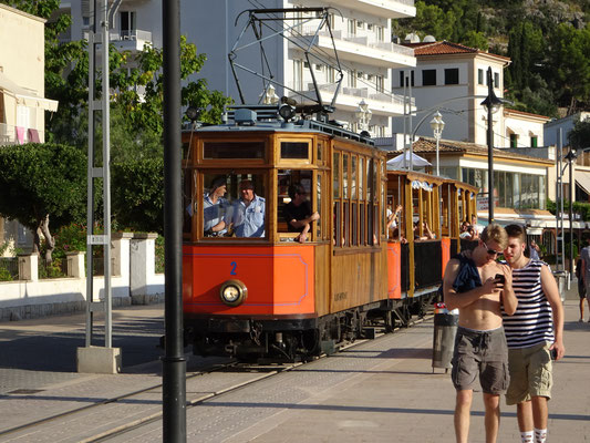 Train Port de Soller Mallorca