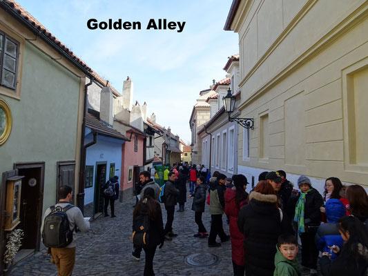 Golden Alley Prague