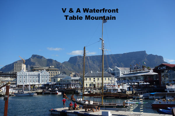 V& A Waterfront Capetown South Africa