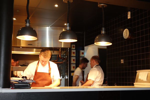 Cooking Station at Temple & Sons London