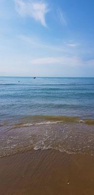Crystal blue water Lido di Jesolo