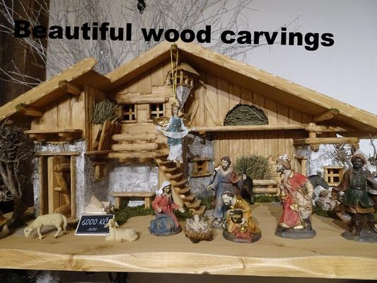 Wood Carvings Prague