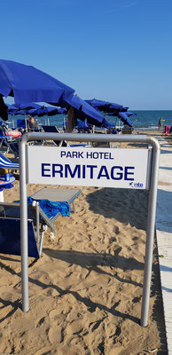 Beach at Park Hotel Ermitage - Lido di Jesolo
