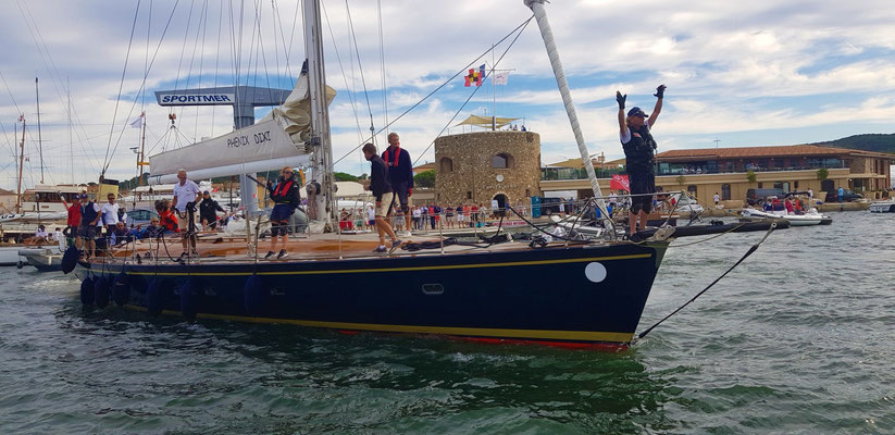 Sailing Race St. Tropez