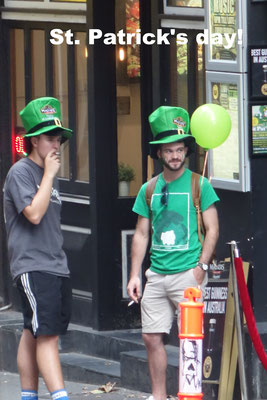 St. Patrick's day Melbourne