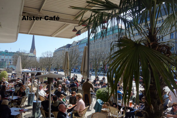 Alster Café Hamburg Germany