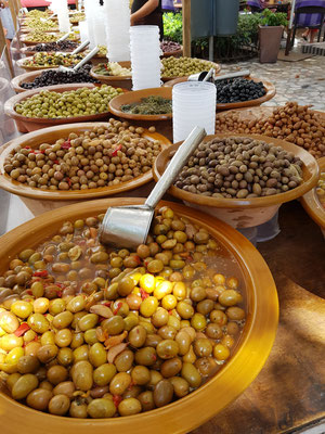 Olives at Market Soller