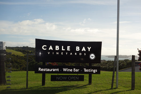 Cable Bay Vineyards Waiheke Island New Zealand