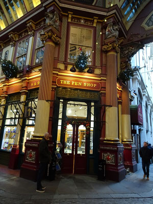 Pen Shop Leadenhall Market