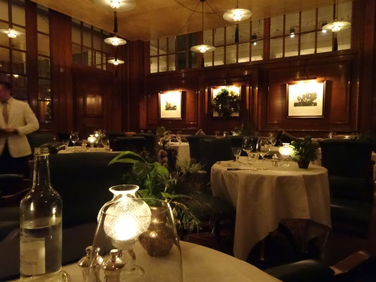 The Lutyen's Grill at the Hotel Ned London