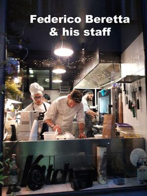 Chef Cook Federico Beretta Como
