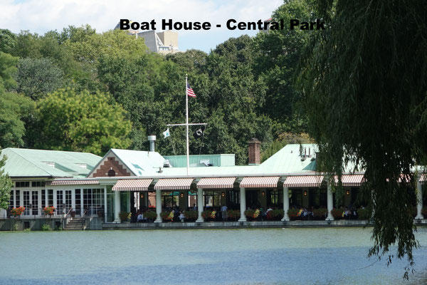 Boat House Restaurant Central Park NYC