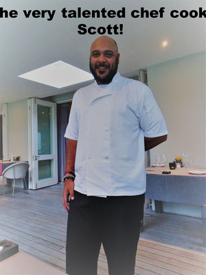 Chef Cook Scott Athol Place Hotel Sandton