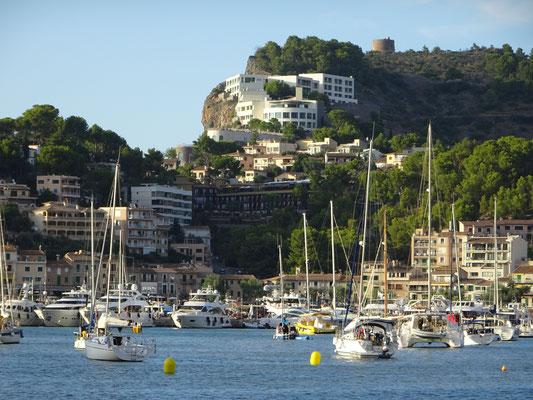 Boats Port de Soller Mallorca