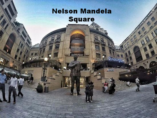 Nelson Mandela Square Johannesburg South Africa
