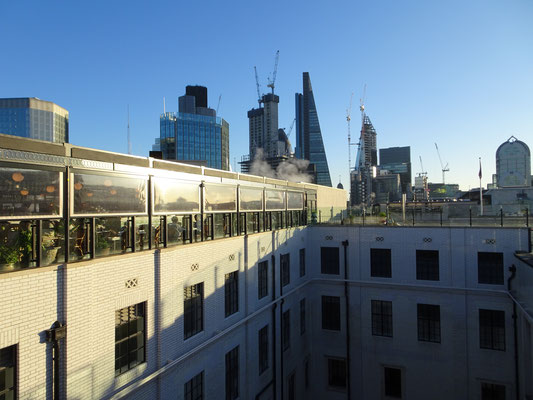 Rooftop Restaurant at the Ned London