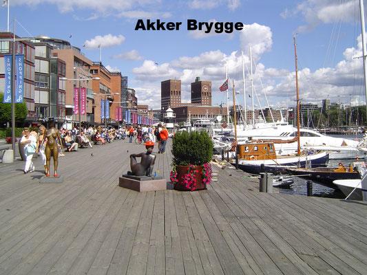 Akker Brygge Oslo Norway