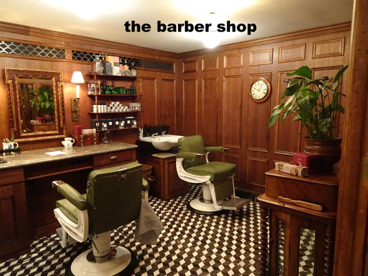 The barber shop for Soho Members only
