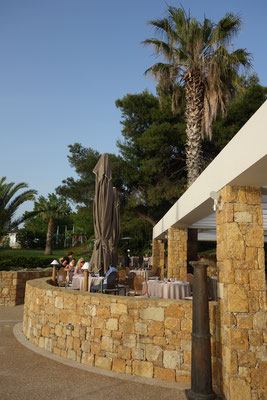 Restaurant Dunes Sani Beach Resort Greece