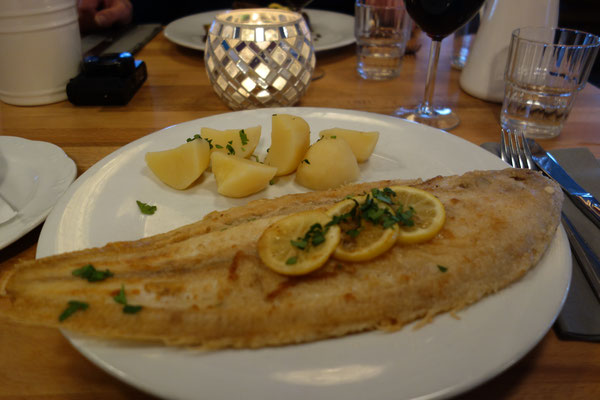 Sole at Restaurant Wonnemeyer List