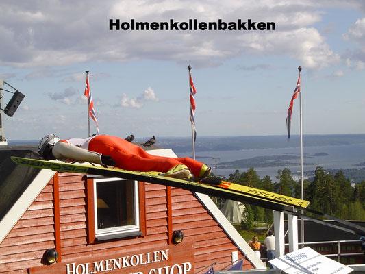 Holmenkollenbakken Oslo Norway