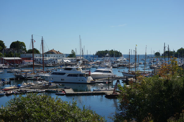 Camden Harbour New England USA