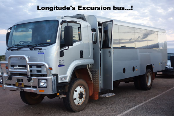 Longitude's Excursion Bus Uluru