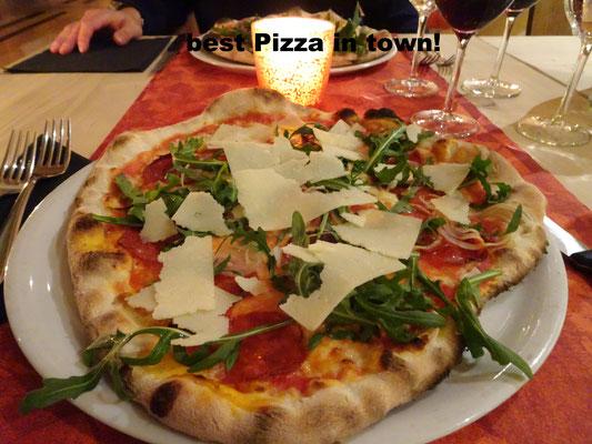 Pizzeria at Crusch Alba Hotel Zernez