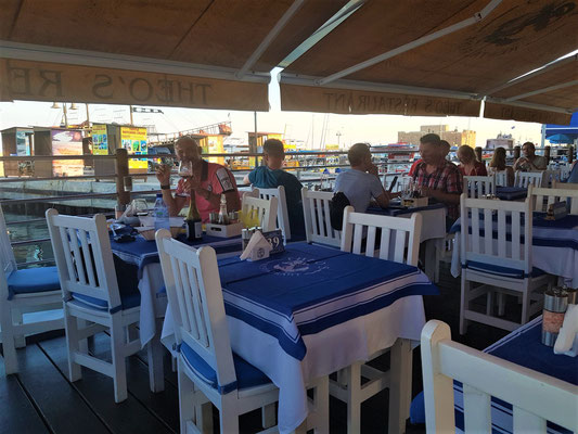 Theo's restaurant paphos