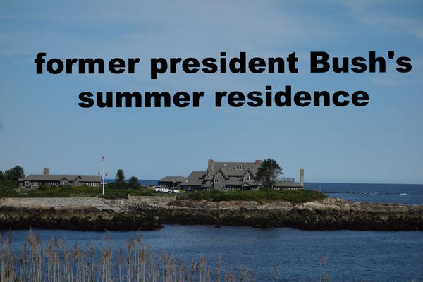 Former President Bush's Summer Residence