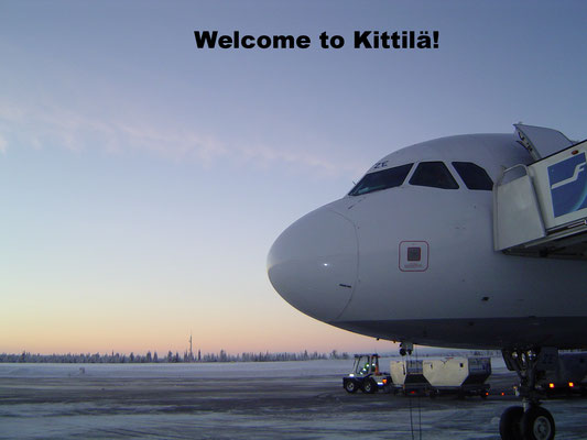Kittilä Airport Lappland Finland