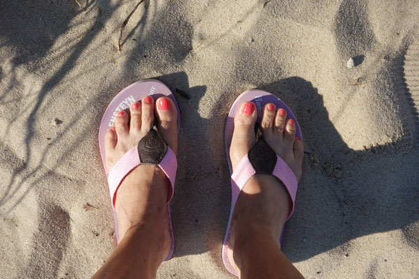 Barefoot in Sylt