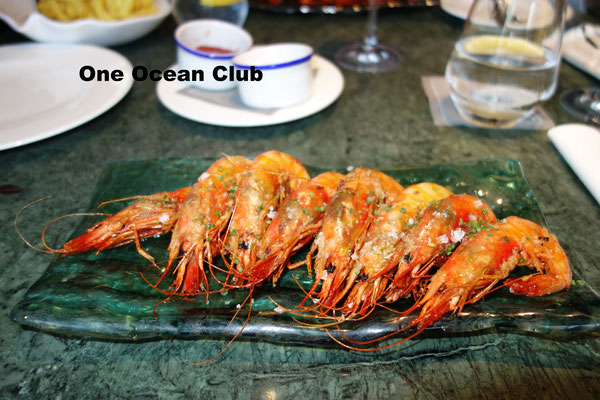Seafood at One Ocean Club Barcelona