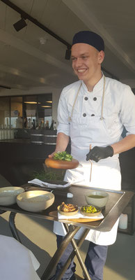 Charming cook at Pure C
