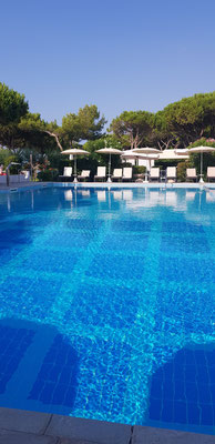 Pool at Park Hotel Ermitage Jesolo