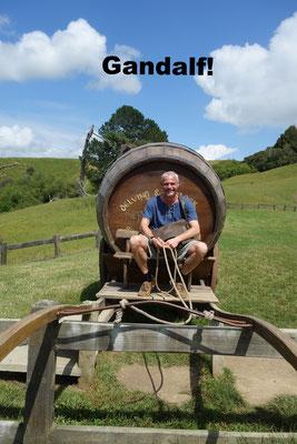 Gandalf Hobbiton New Zealand