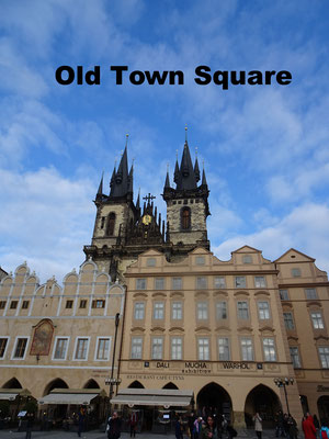 Old Towns Square Prague
