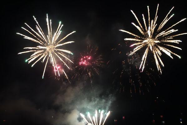 Fireworks in Gersau